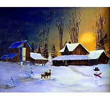 The Night Before Christmas Photographic Print