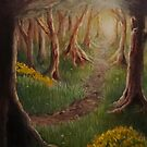 Woodland Path by Sophie Corrigan