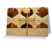 Cross, Frank Lloyd Wright Designed Chapel, Florida Southern College, Lakeland, Florida Greeting Card