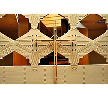 Cross, Frank Lloyd Wright Designed Chapel, Florida Southern College, Lakeland, Florida Photographic Print