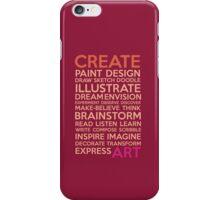 Create-Berry iPhone Case/Skin