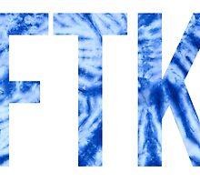 ftk blue tie dye by lolosenese