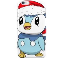 Piplup Santa Hat iPhone Case/Skin