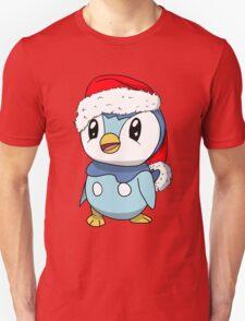 Piplup Santa Hat T-Shirt