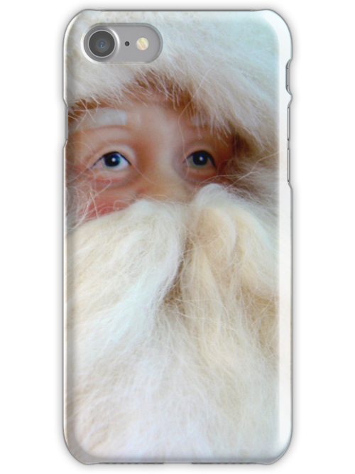 Santa (iPhone Case) by AuntDot