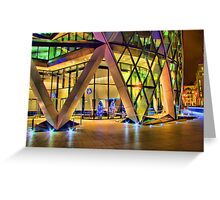 Christmas At The Gherkin London Greeting Card