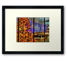 Christmas At The Willis Building London Framed Print