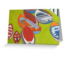 Coliemore Boats 2 Greeting Card
