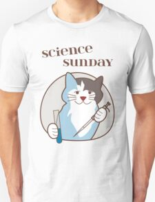 Science Sunday Days of the Week Cat T-Shirt