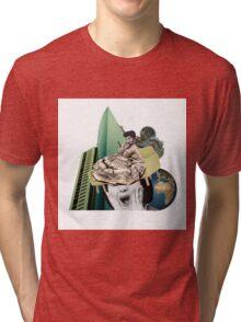 Makes no sense at all Tri-blend T-Shirt