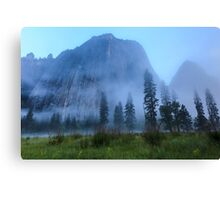 El Capitan in Fog Canvas Print