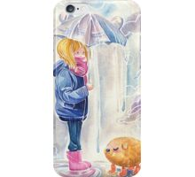 Rainy Day Daydream iPhone Case/Skin
