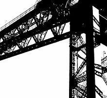 Finnieston Crane by Iain McGillivray