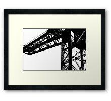 Finnieston Crane Framed Print