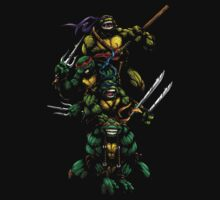 Ninja Turtles by eelectro11