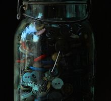 Mom's button jar by Kevin Krueger