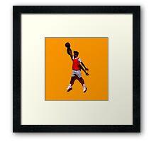 Jump man KYLE Framed Print