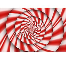 Abstract - Spirals - The power of mint Photographic Print