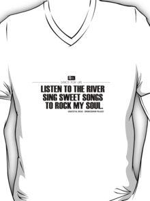 Grateful Dead Lyric -Brokedown Palace. T-Shirt