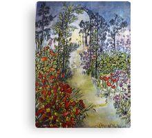 Secret Midnight Garden Canvas Print