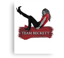 Team Beckett Canvas Print