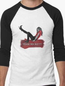 Team Beckett Men's Baseball ¾ T-Shirt