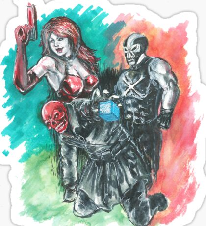 Redskull, Crossbones, Sin Sticker