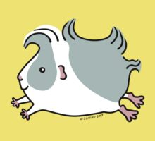 Leaping Guinea-pig ... Gray and White  Baby Tee