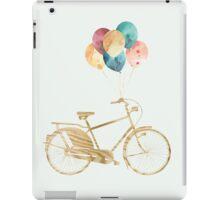 Bike & Balloons iPad Case/Skin