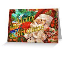 Merry Christmas - Santa Greeting Card