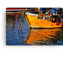 Slippery Dick Reflections ~ Lyme Regis Canvas Print