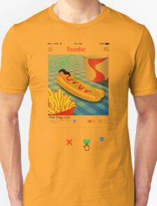 Only food... what else ? T-Shirt