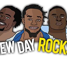 "The New Day ""New Day Rocks"" WWE Wrestling T-Shirt by Thomas Cushnie"