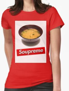 Soupreme Womens Fitted T-Shirt