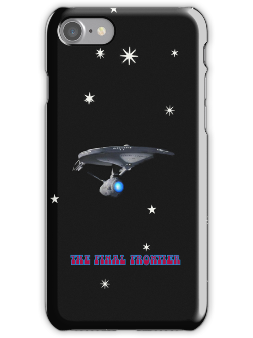 THE FINAL FRONTIER iPhone Case by Catherine Hamilton-Veal  ©