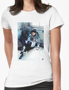 Rap Monster Womens Fitted T-Shirt