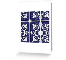 Agreeable Loyal Divine Polite Greeting Card