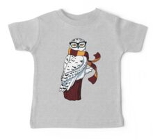 Hipster Owl Baby Tee