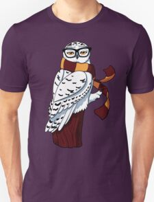 Hipster Owl Unisex T-Shirt