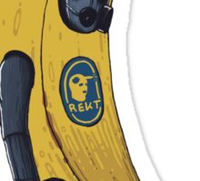 Counter terrorist Banana Sticker
