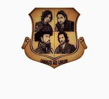 The Musketeer Shield - OMNUS AD UNUM Unisex T-Shirt