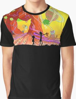 Welcome to the rick and morty world!!! Graphic T-Shirt