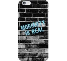 Moriarty is Real Graffiti  iPhone Case/Skin