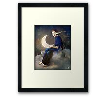 kingdom of clouds Framed Print