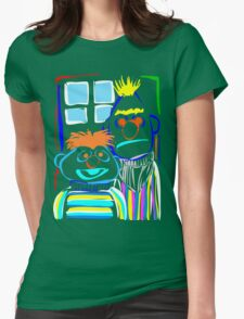 Bert & Ernie Womens Fitted T-Shirt