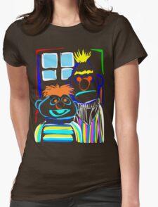 Bert & Ernie Womens Fitted T-Shirt