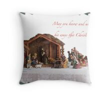 Christmas season Throw Pillow