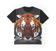 Geometric Tiger Graphic T-Shirt