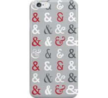 Ampersands iPhone Case/Skin