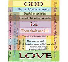 Ten Commandments Photographic Print